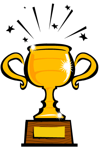 first place trophy clipart picture