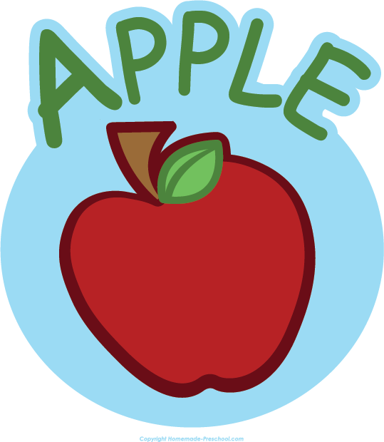 free apple clipart by homemadeclipart