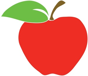 free apple clipart images