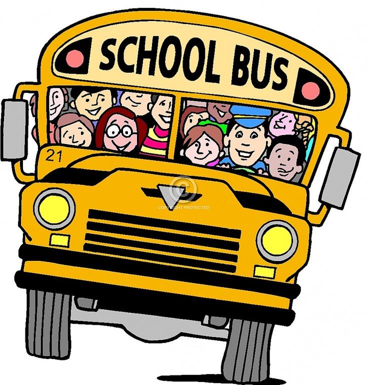 free clip art school bus clipart images 2