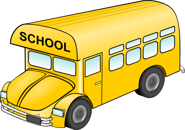 free clip art school bus clipart images 9