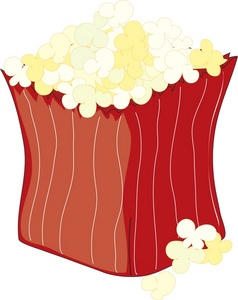 free popcorn clipart clipart