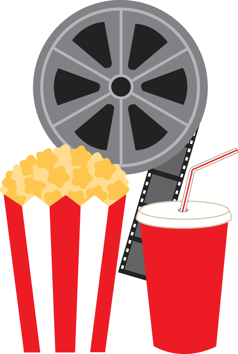 free popcorn clipart image movie reel clip art
