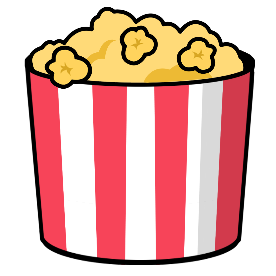 free to use & popcorn clip art 4