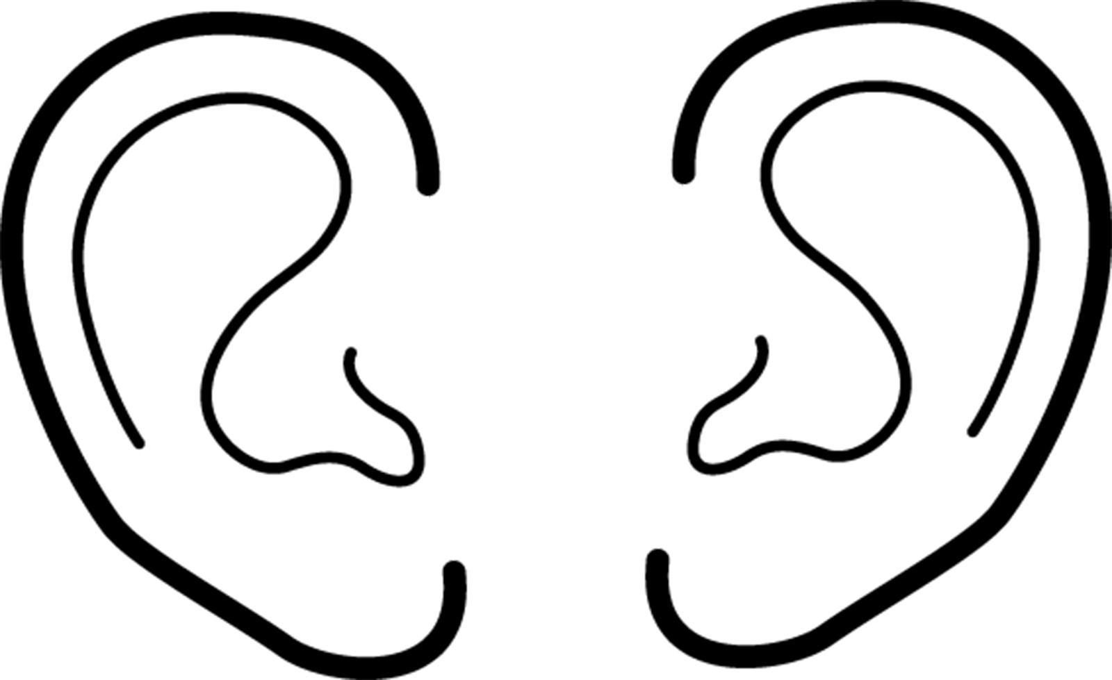 funny ear clipart