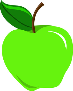 green apple clipart free picture