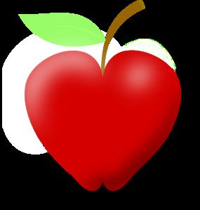 love apple clipart