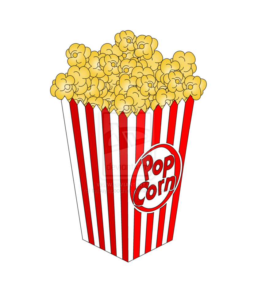 piece of popcorn clipart free images