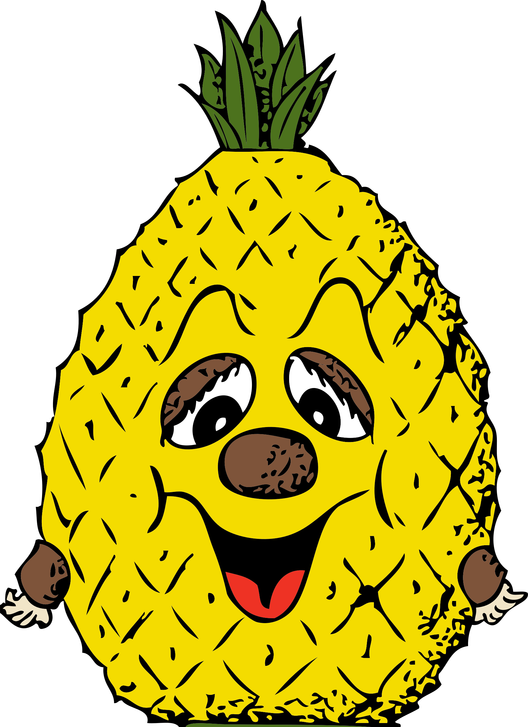 pineapple clip art 4 clipartbold