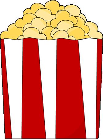 popcorn bag clipart
