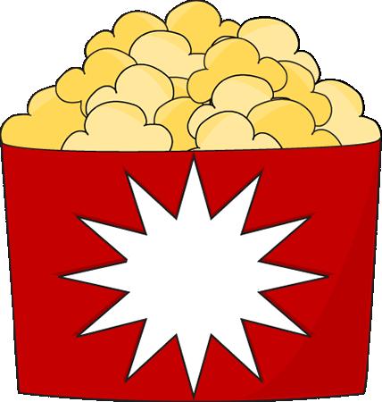 popcorn bucket clip art image