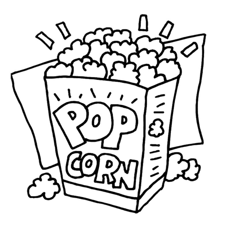 popcorn clip art 2