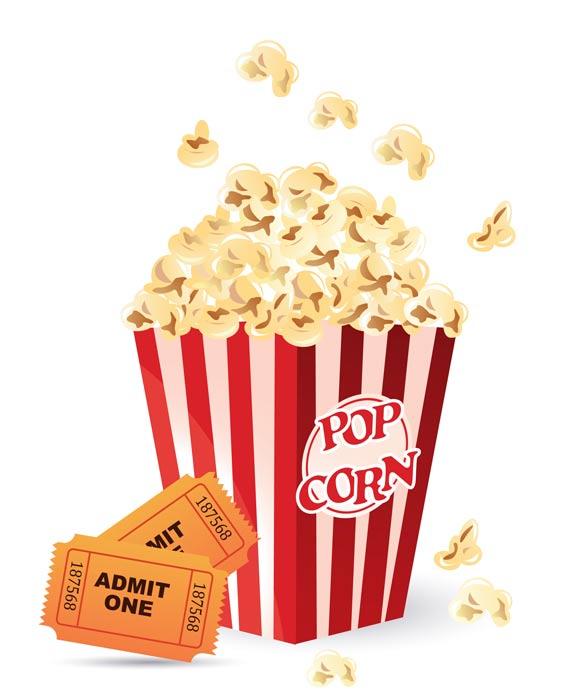 popcorn clip art 4