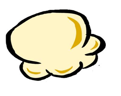 popcorn kernel clipart free images 4
