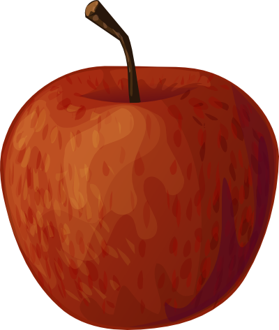 real apple clipart free images