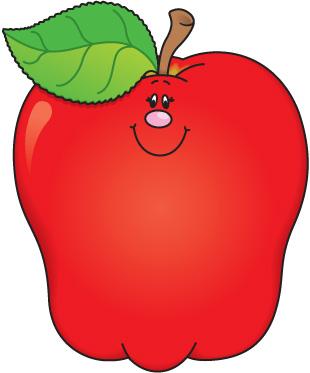 school apple clipart 2