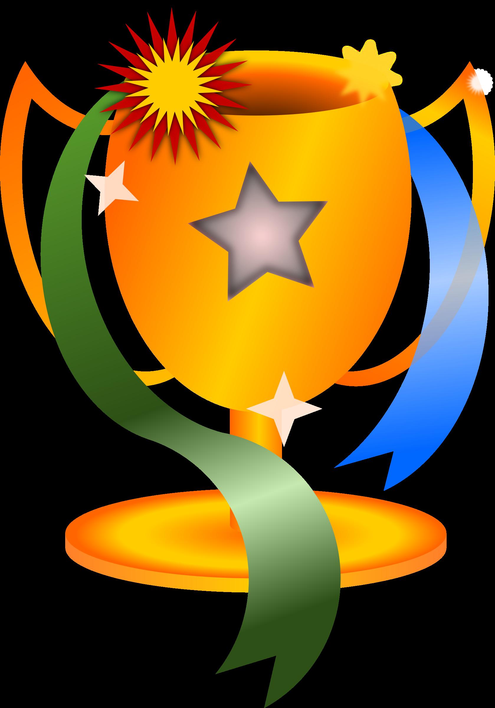 star clip art clipart trophy