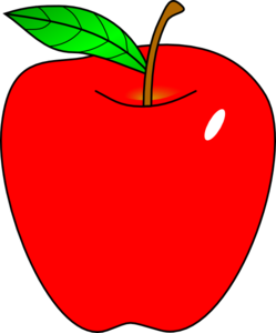 teacher apple clipart free images