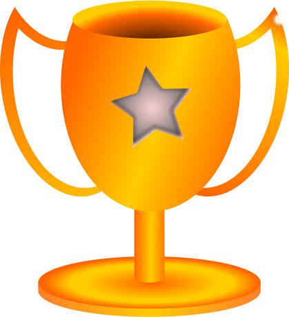 trophy clip art free clipart winner