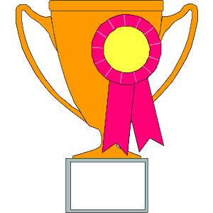 trophy clip art winner free clipart