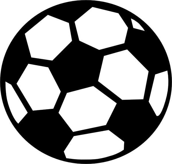 A soccer ball clip art