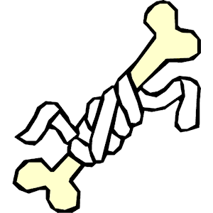 About broken bones clipart 3