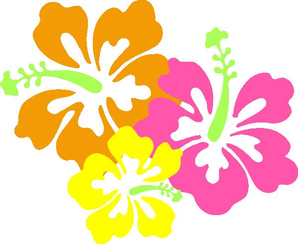 Aloha luau clipart