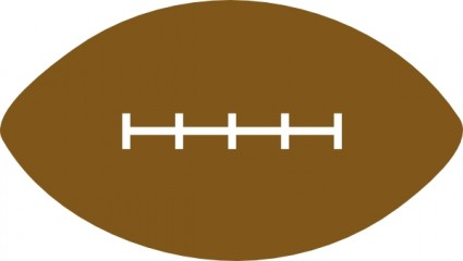 American football clip art free vector in open office drawing svg