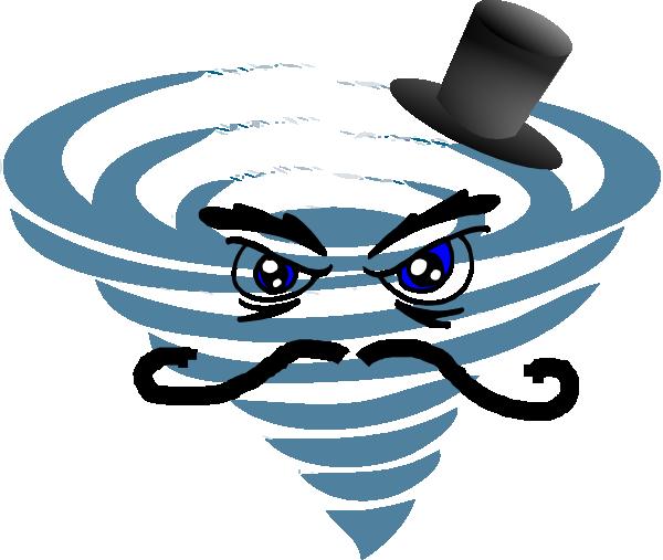 Animated tornado clipart