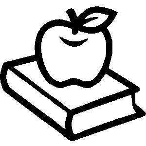 Apple  black and white 3d ce bb c8bde2a2e clipart