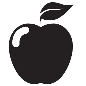 Apple  black and white apple black and white clip art clipart