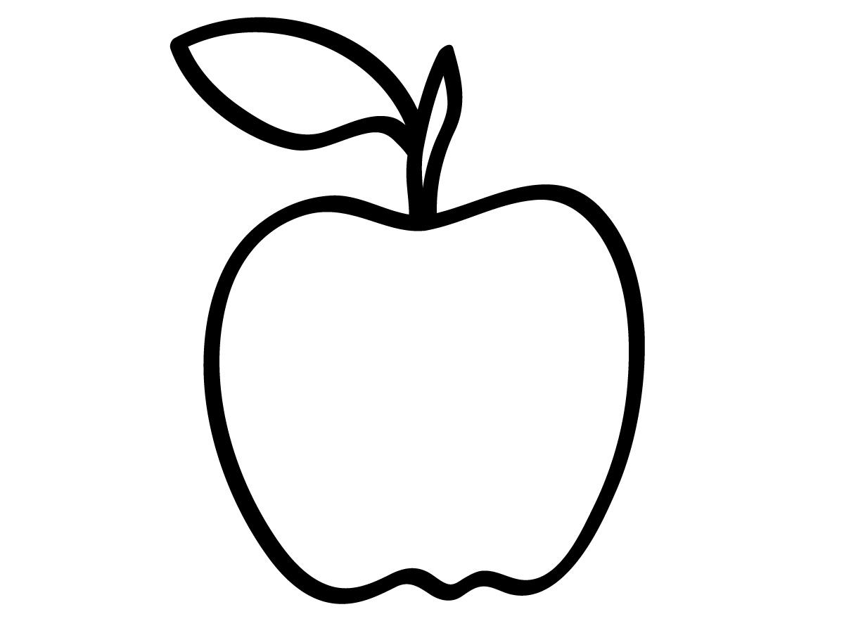 Apple  black and white apple black and white clipart 3