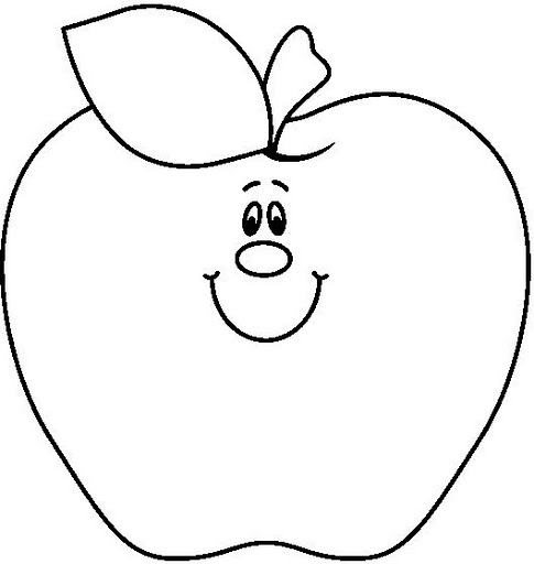 Apple  black and white apple clipart black and white page 1