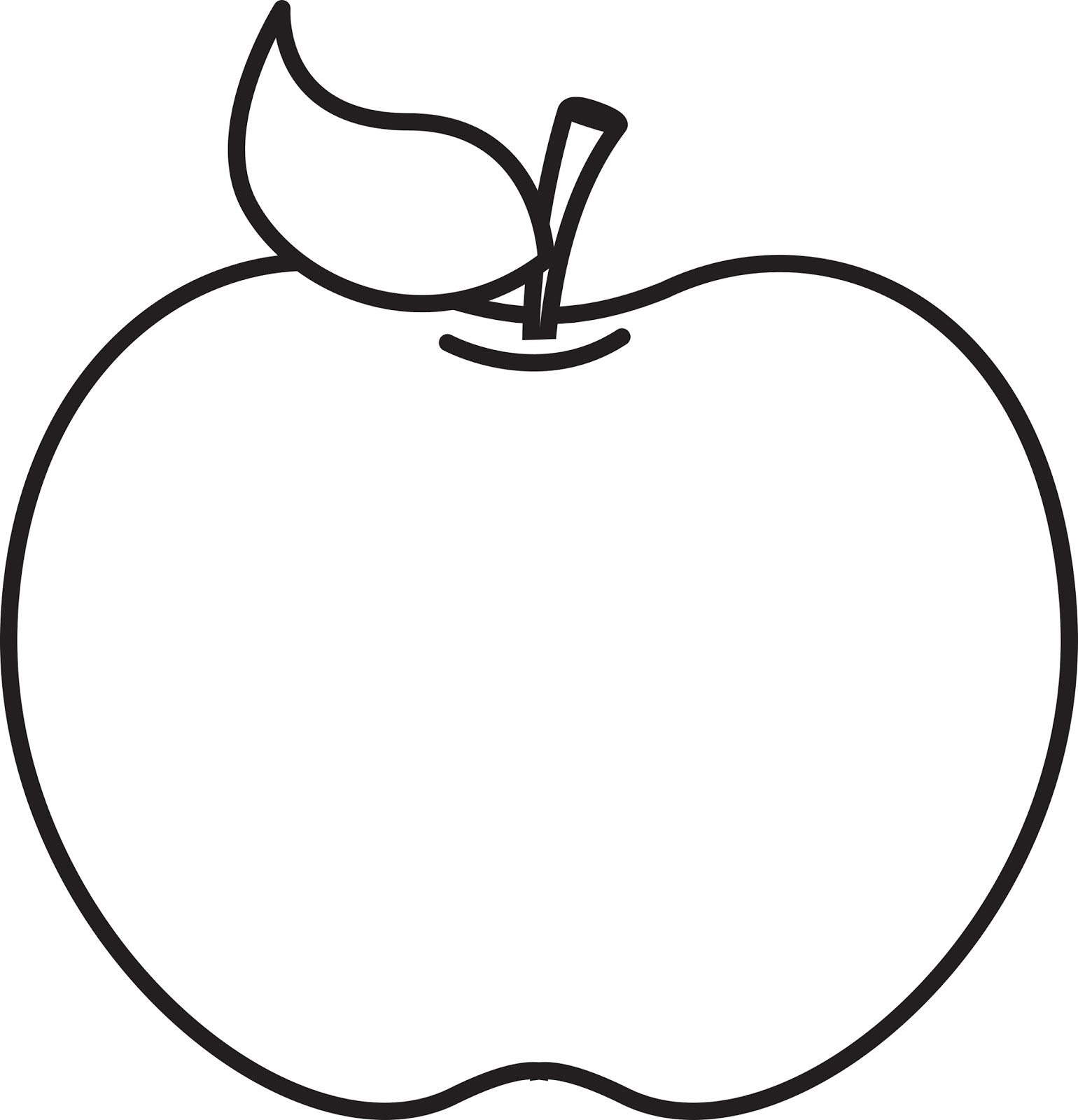 Apple  black and white apple clipart black and white