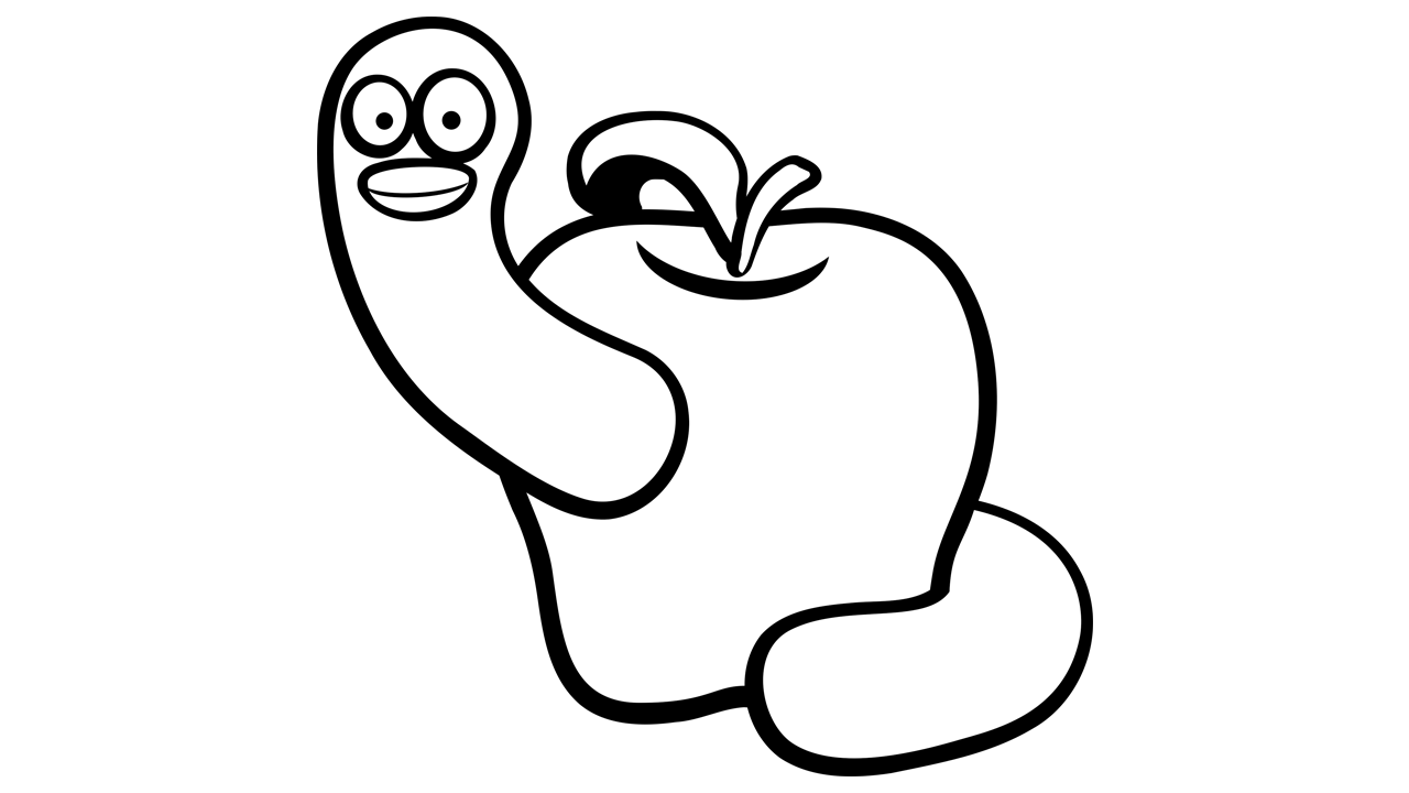 Apple  black and white apple fruit free clipart names a with pictures