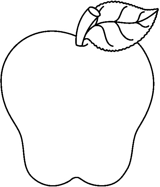 Apple  black and white black and white apple clip art 3