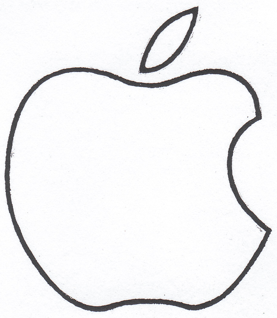 Apple  black and white black and white apple clipart cliparts others art inspiration