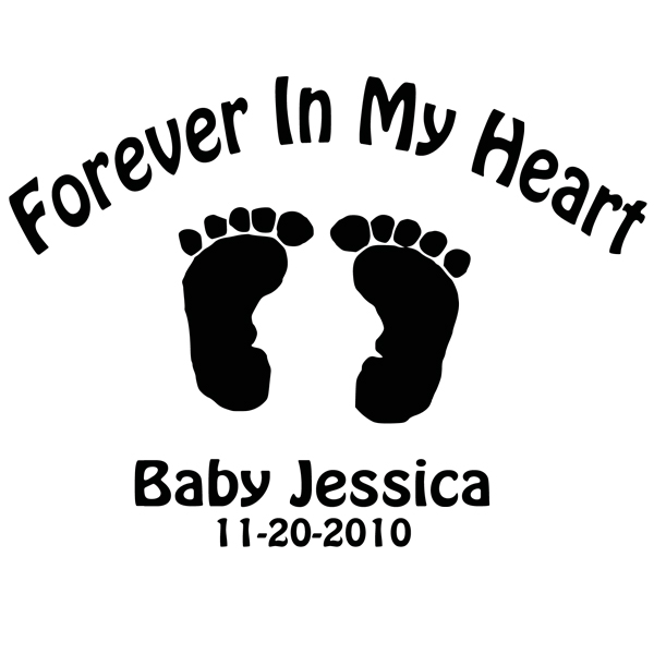 Baby feet clip art 2 2