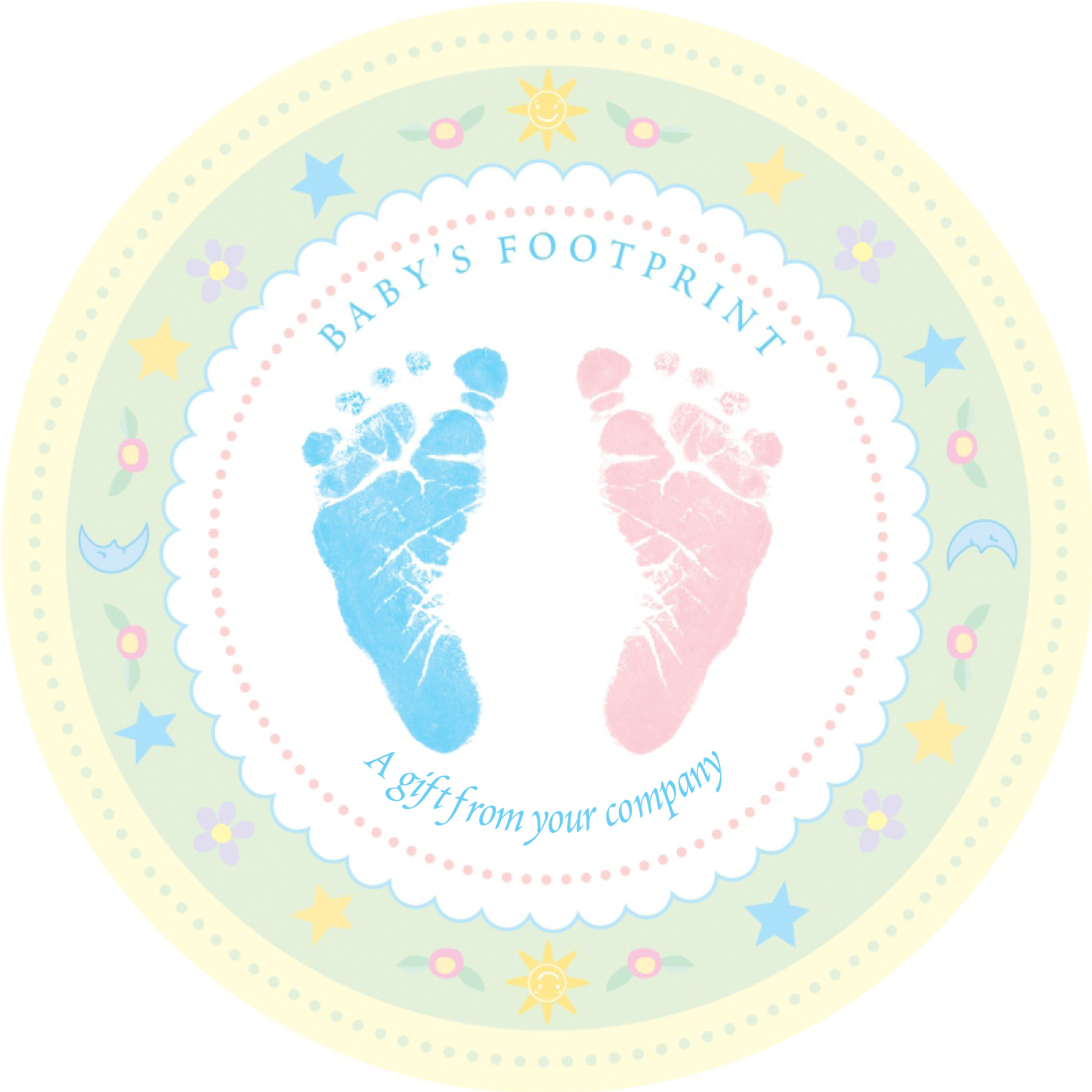 Baby feet clip art 2 3