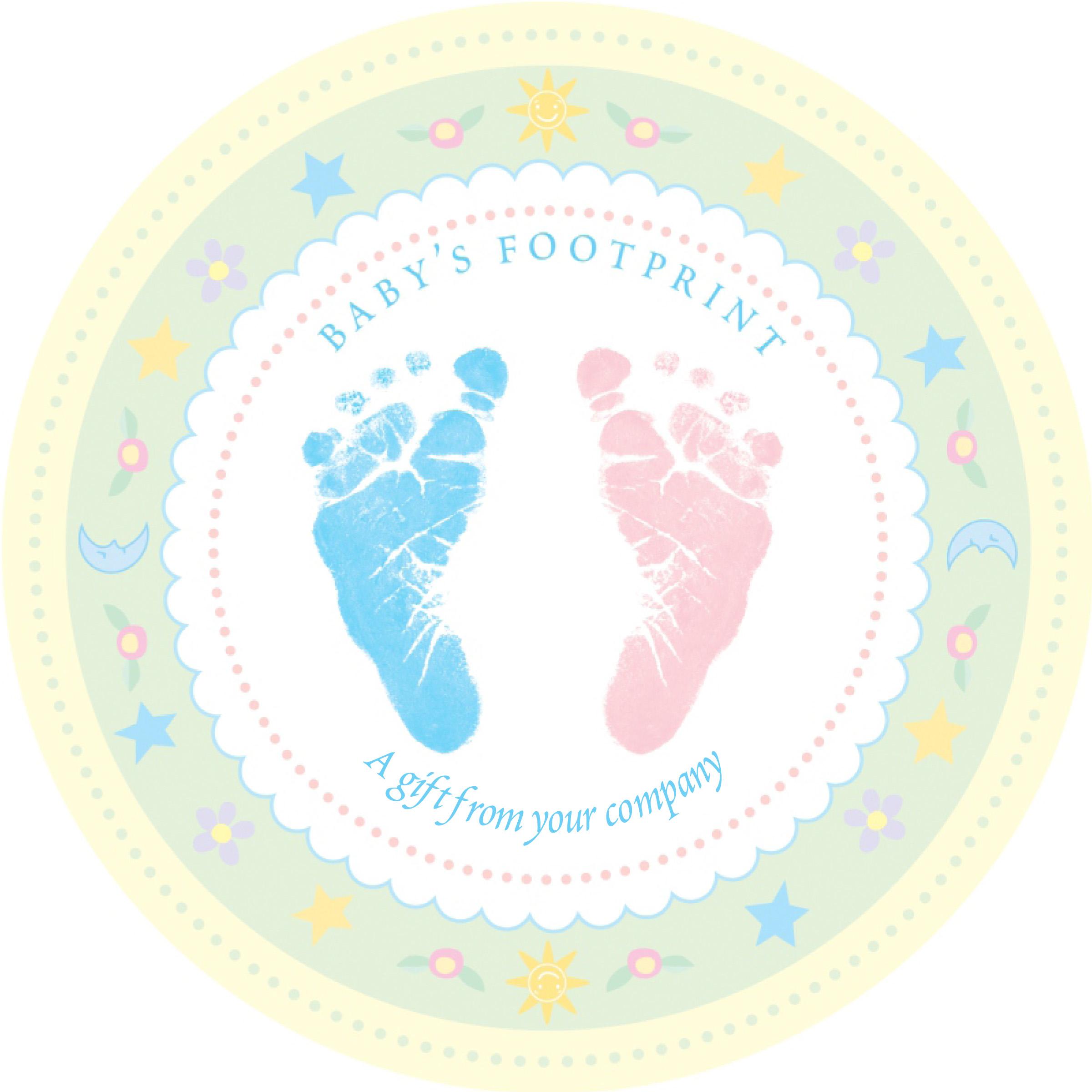 Baby feet clip art 2 3