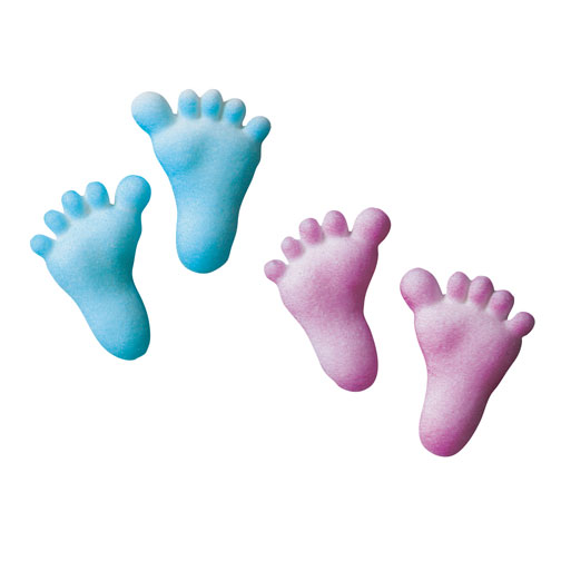 Baby feet clip art 3 2