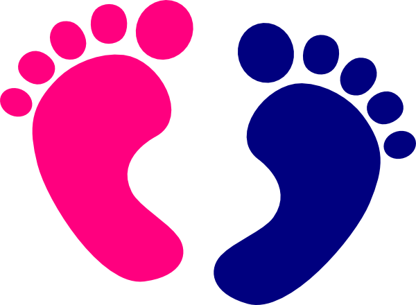 Baby feet clip art at vector clip art 2
