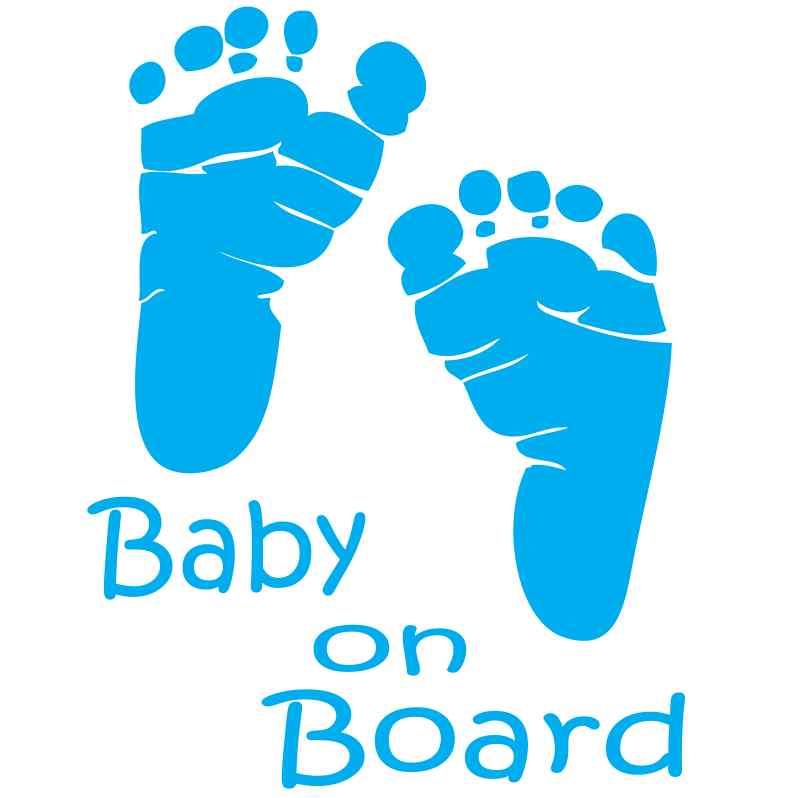 Baby feet clipart 2