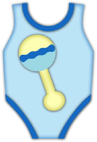 Baby rattle baby clip art 2