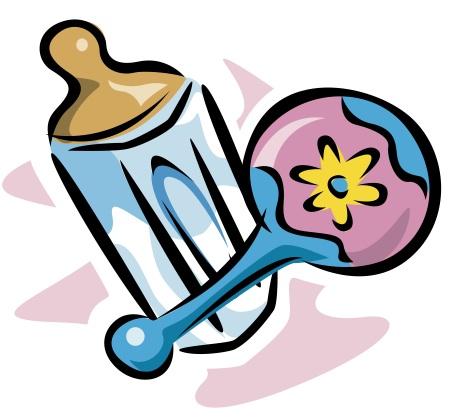 Baby rattle clipart 5