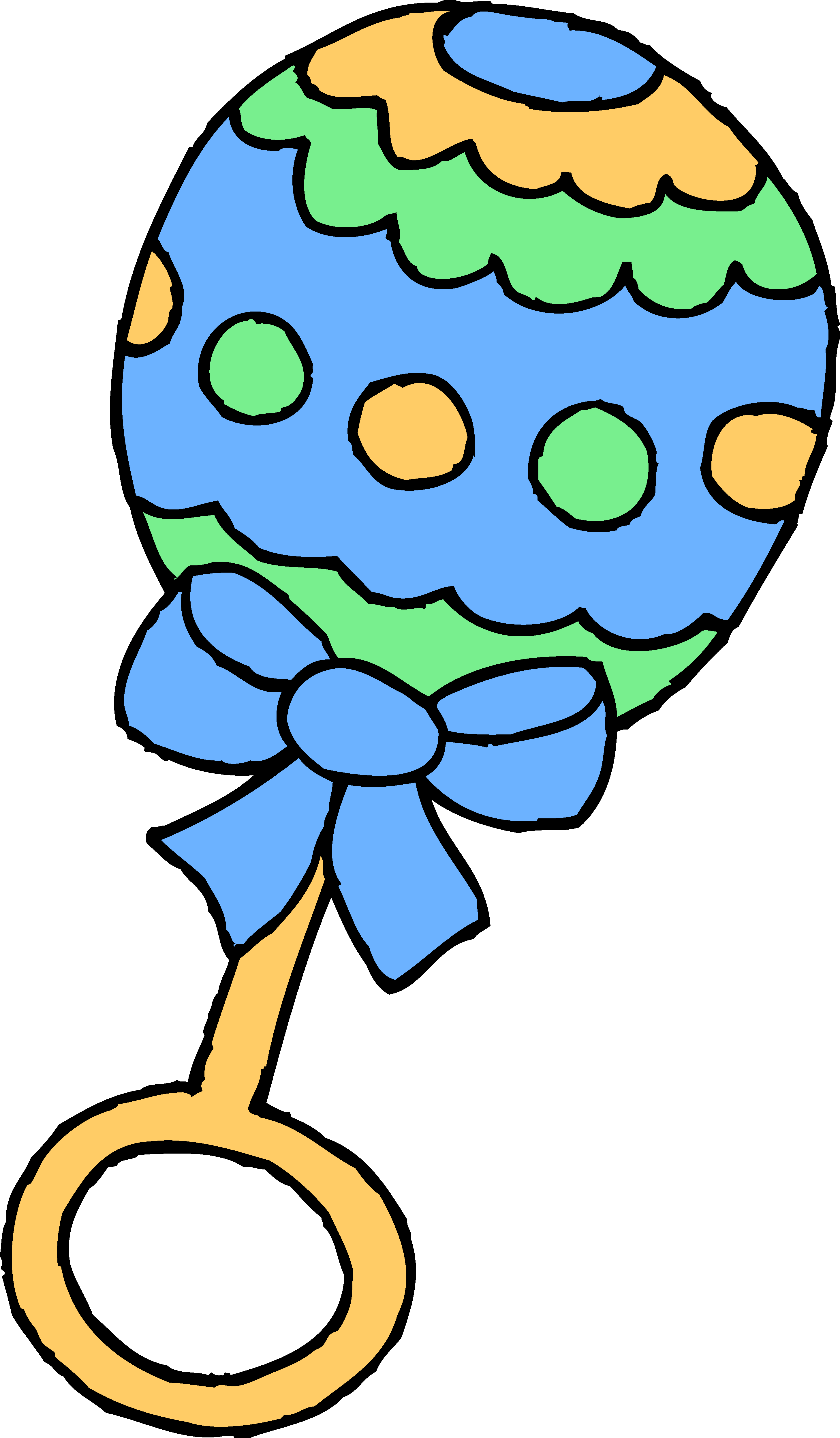 Baby rattle rattle clipart free images 4
