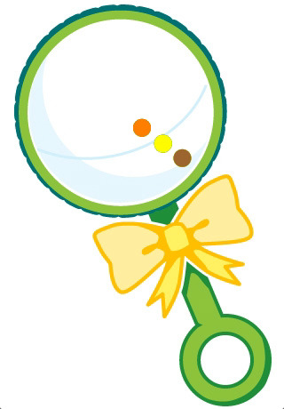 Baby rattle rattle clipart free images 5