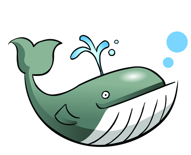 Baby whale clip art free clipart images 4