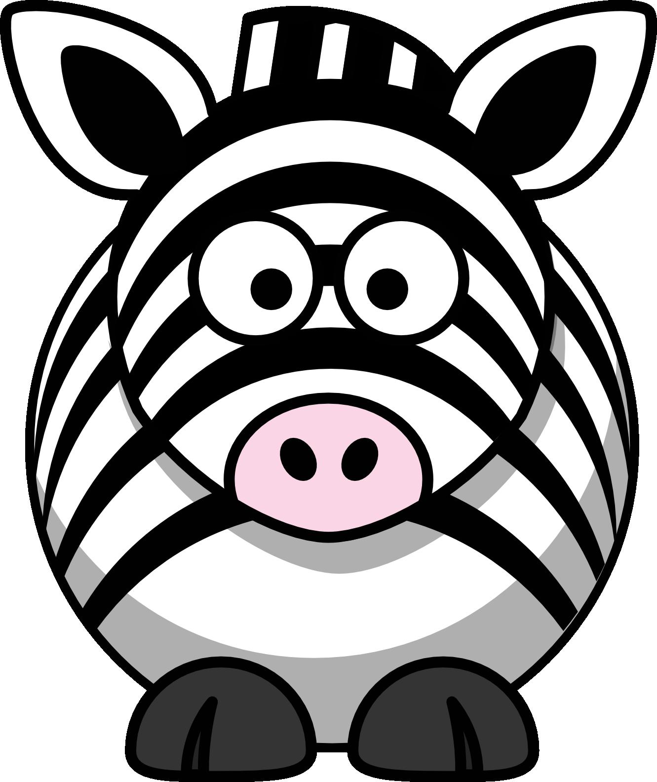 Baby zebra clip art clipart