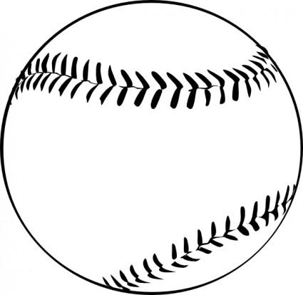 Baseball clip art free clipart